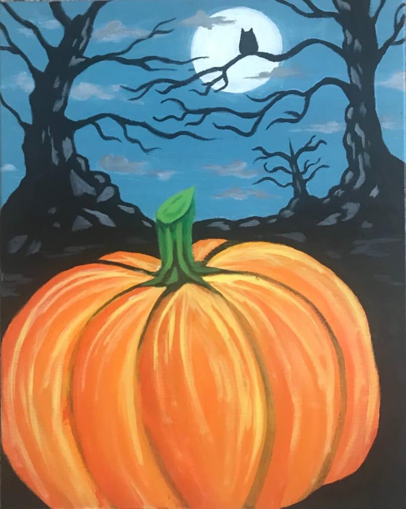 halloween-painting-party