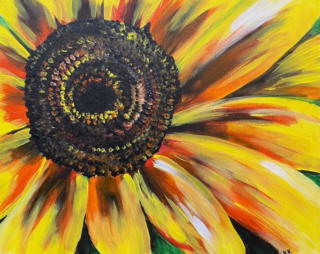 sunflower-wine-and-canvas-painting-party